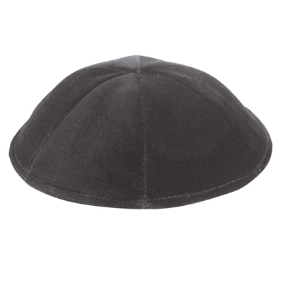 Altman™ Black Matte Kippah - 6 Parts w/o Rim