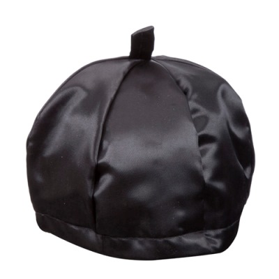 Satin Cantor's (Chazan) Hat Black