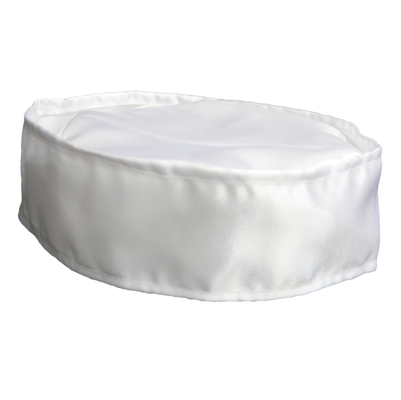 White Satin Lita Rabbi Kippah