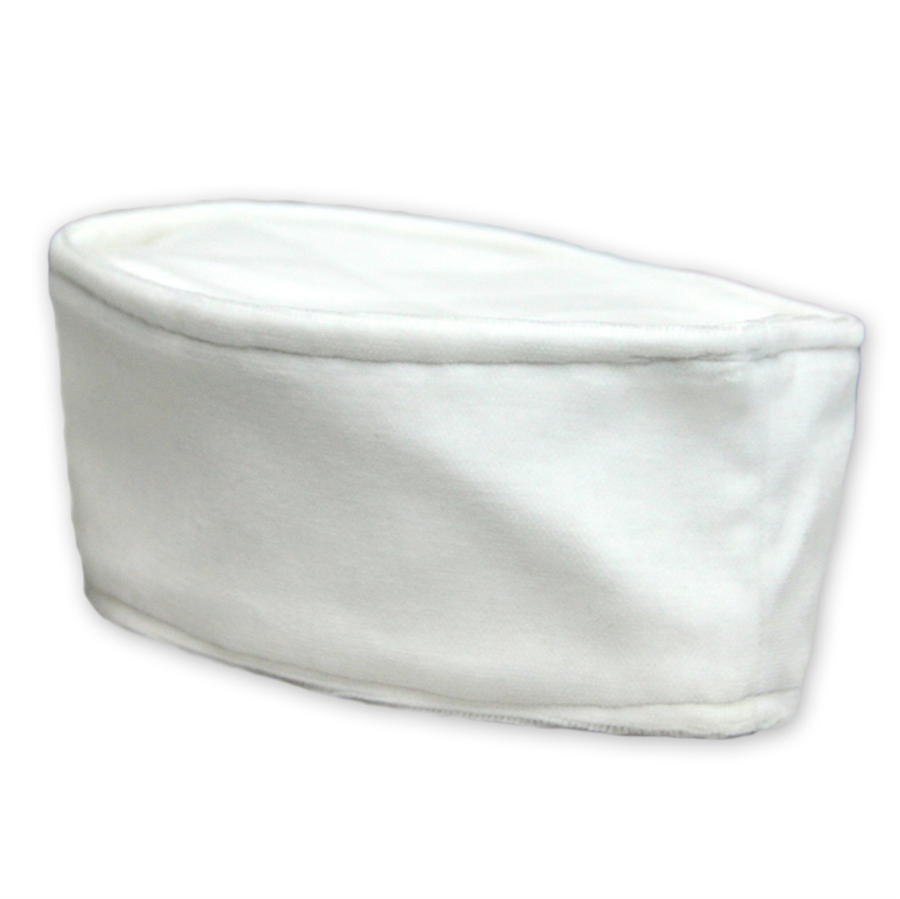 White Velvet Lita Rabbi Kippah
