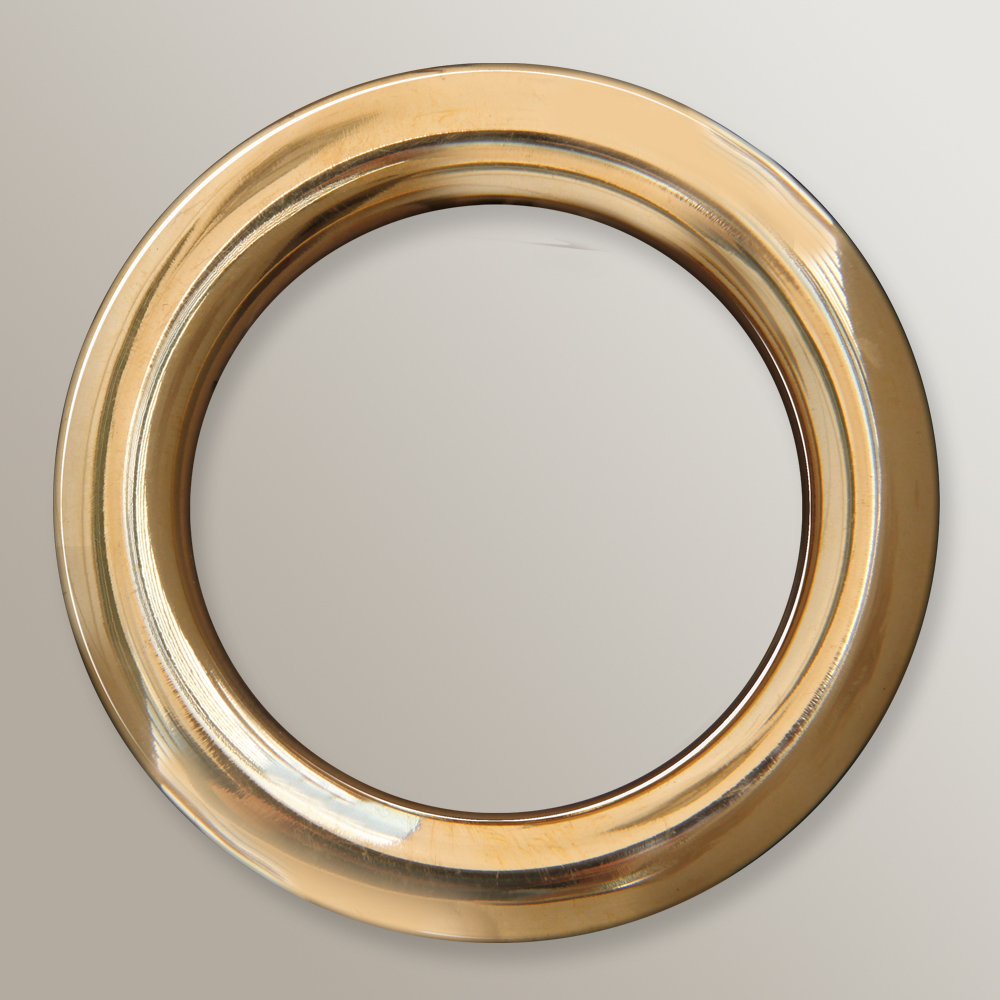 Brass Rings for Mantle